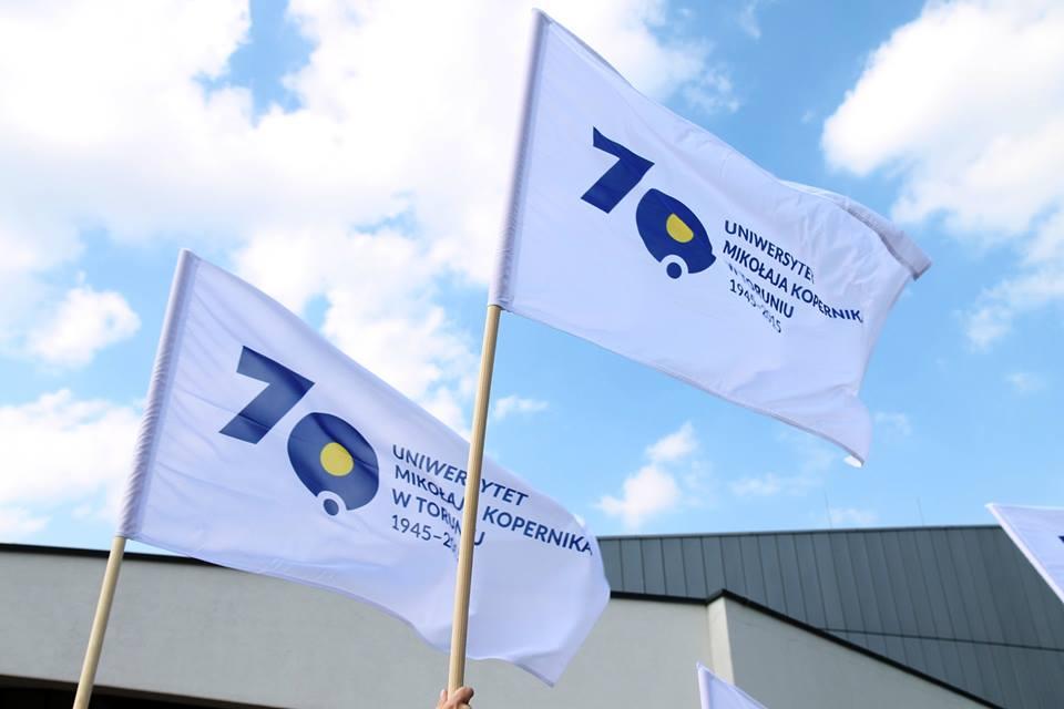 70 lat flaga