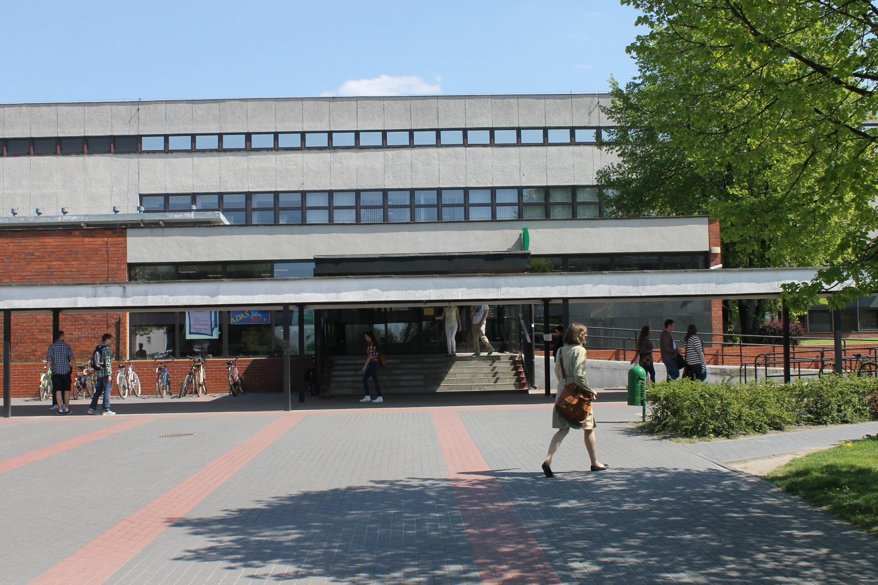 Biblioteka Główna UMK [fot. Sara Watrak]