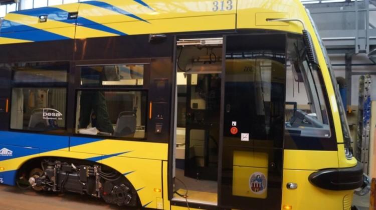 podwojny tram