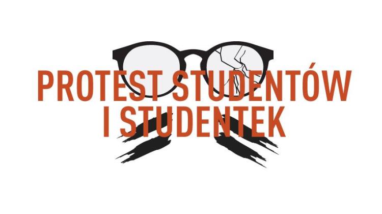 protest studentów i studentek