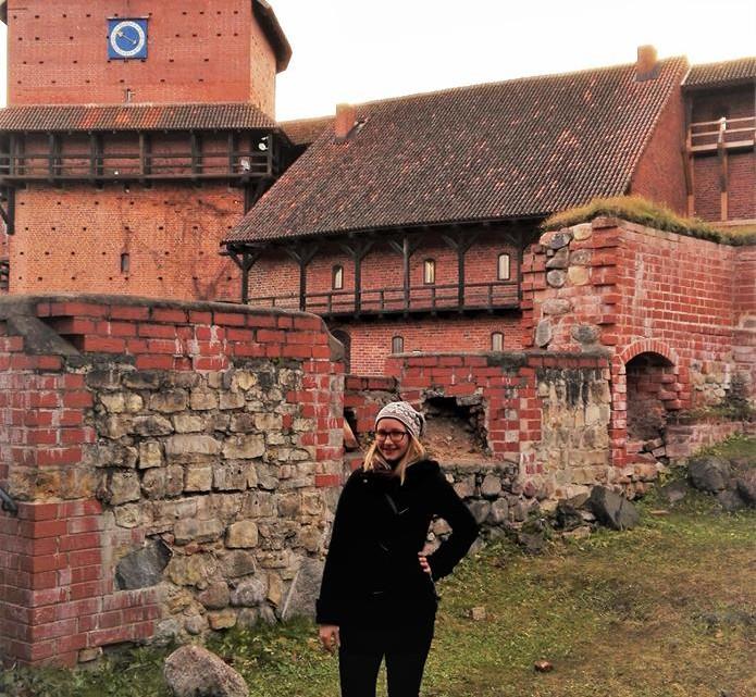 Agnese w mieście Sigulda