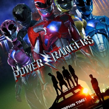 "Plakat filmu ""Power Rangers"""
