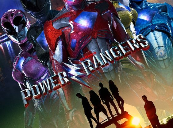 "Plakat filmu ""Power Rangers"""