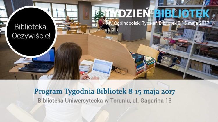XIV Tydzień Bibliotek w Toruniu