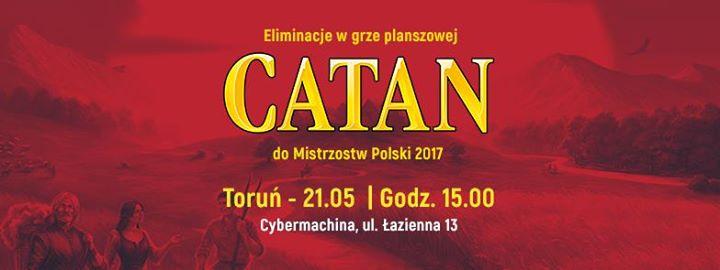 Catan - eliminacje do Mistrzostw Polski w Cybermachinie