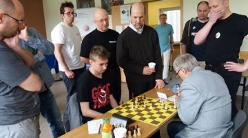 Przedostatnia runda turnieju  | fot. Ryszard Kruk