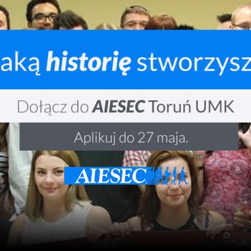 Rekrutacja do AIESEC trwa!
