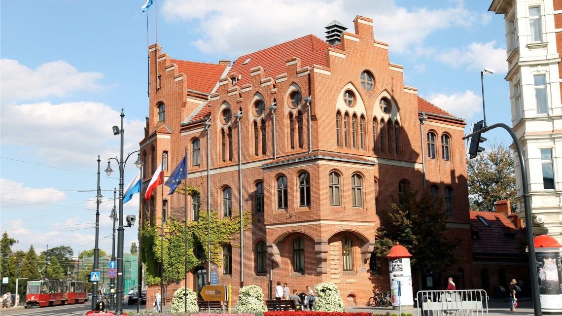 Urząd Miasta Torunia [Fot. Angelika Plich]