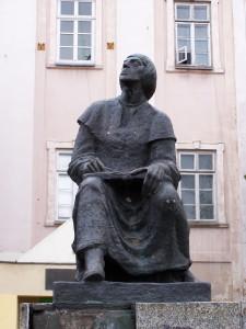 Piotrków_Trybunalski_-_Pomnik_Mikołaja_Kopernika