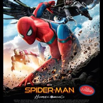 """""""Spider-Man: Homecoming"""" w toruńskich kinach Cinema City"""