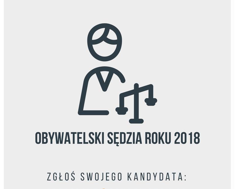 Obywatelski Sędzia Roku [fot. materiały organizatorów]