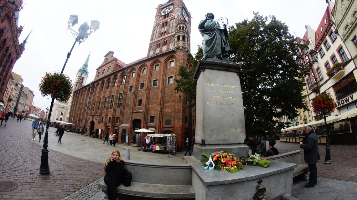 Pomnik Mikołaja Kopernika [fot. Mateusz Kosowicz]
