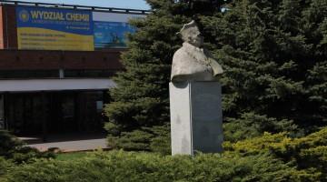 Pomnik Rektora [fot. Angelika Plich]