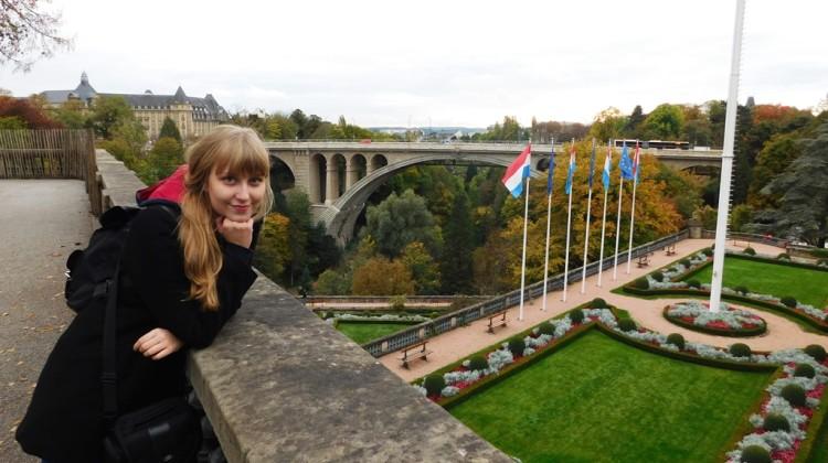 Sara Watrak w Luksemburgu [fot. Maciej Koprowicz]