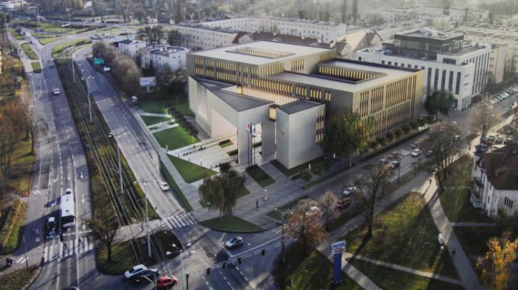 Przy nowym budynku Sądu Rejonowego powstaną nowe parkingi [fot.torun.pl]