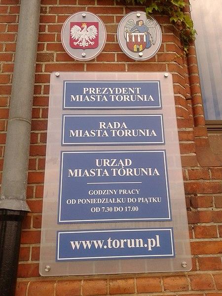 Poznaliśmy nazwiska radnych miasta Torunia [fot. Grzegorz Nadolski/Wikimedia Commons]