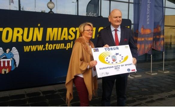Toruń Europejskim Miastem Sportu 2019 [fot. screen ze strony www.torun.pl/pl/torun-europejskim-miastem-sportu]