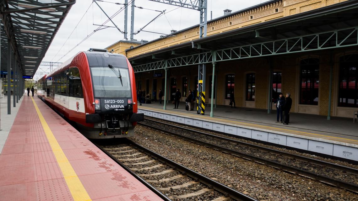 """Toruń Główny znalazł sie w czołówce konkursu """"Dworzec Roku"""" [fot. Angelika Plich]"""
