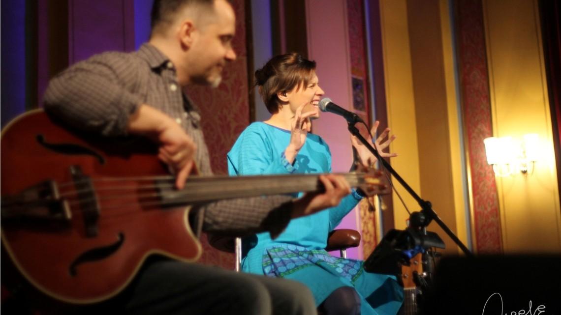 Mikromusic podczas koncertu w Dworze Artusa  27.02.2015 roku. [fot. Angelika Plich]