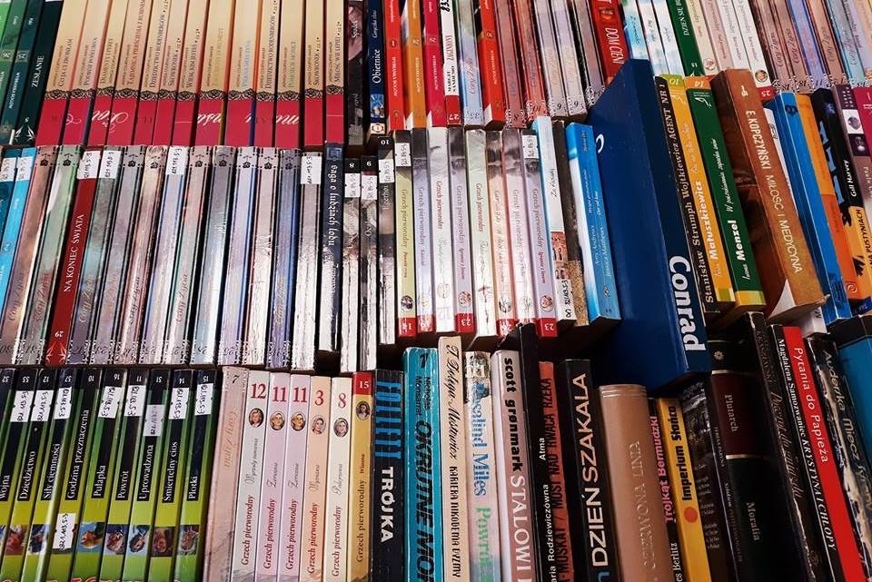 Błyskawiczny kiermasz książki odbędzie się w mediatece przy ul. Raszei 1 [fot. materiały organizatora]