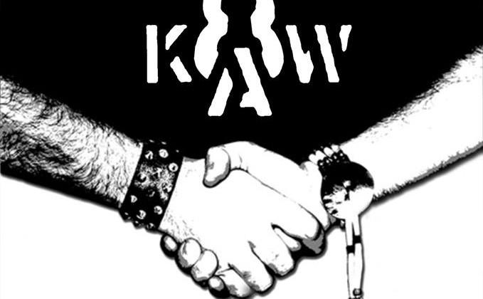Plakat reklamujący koncert zespołów Plebania i 8kaw w Końcu Świata. [fot. wydarzenie na Facebooku]