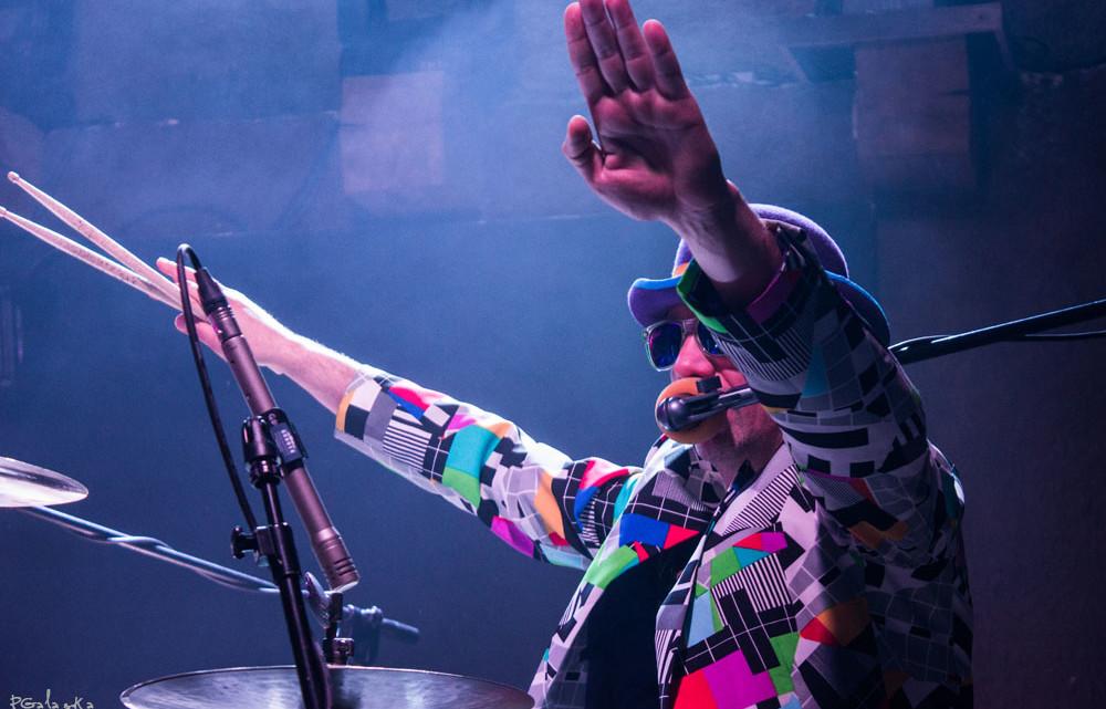 Łąki Łan podczas koncertu w Lizard King Toruń 29 marca 2015 roku. [fot. Paula Gałązka]
