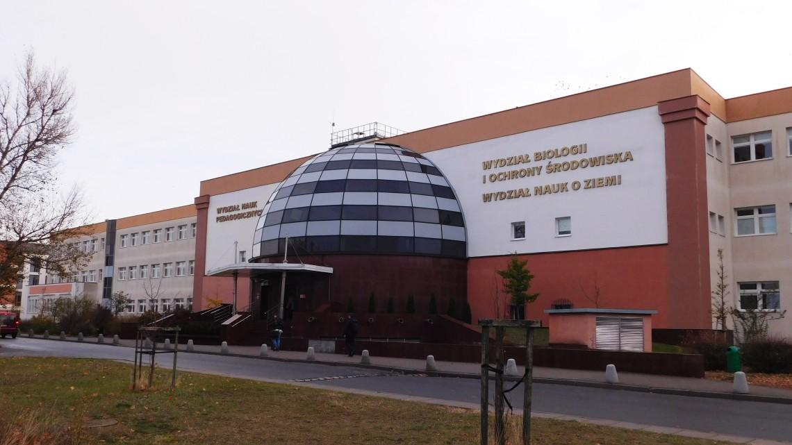 Czy Wydział Nauk o Ziemi i Wydział Nauk Pedagogicznych zostaną przeniesione do większych jednostek? [fot. Sara Watrak]