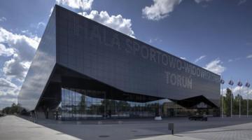 Arena Toruń - miejsce odbywania się mistrzostw świata juniorów i kadetów w szermierce 2019 [fot. torun.pl]