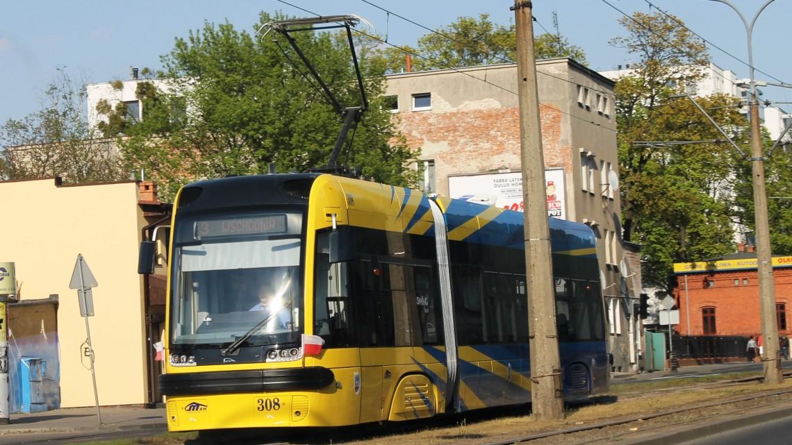 Ruch tramwajowy na odcinku Sienkiewicza - al. Solidarności w sobotę zostanie wstrzymany. [fot. Angelika Plich]