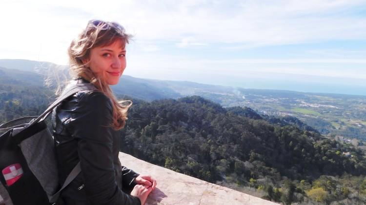 Zdjęcie podchodzi z jednej z ostatnich podróży Sary - Sintra, Portugalia.  [fot. sawatka.blogspot.com]