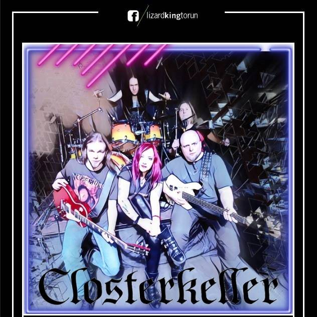 Closterkeller już w niedzielę zagra w Lizard King! [fot. wydarzenie na Facebooku - Closterkeller / Ereles - Lizard King - Toruń]