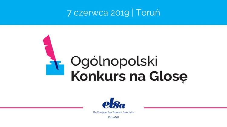 Dwudziesta druga edycja Ogólnopolskiego Konkursu na Glosę odbędzie się w Toruniu już w czerwcu. [fot. wydarzenie na Facebooku]