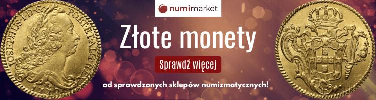 Złote monety - Numimarket.pl