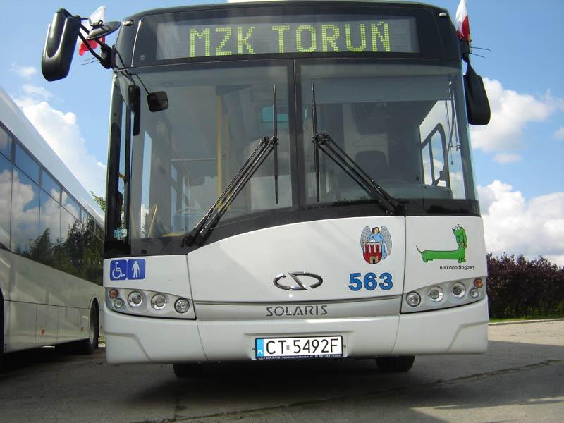 Mieszkańcy gminy Łubianka walczą o dojazd autobusów MZK do ich miejscowości. [fot. mzk-toruń. pl]