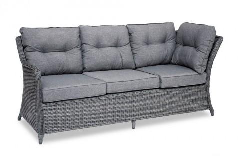 "Technorattanowa sofa ""Sevilla"" fot. Ogrodosfera"