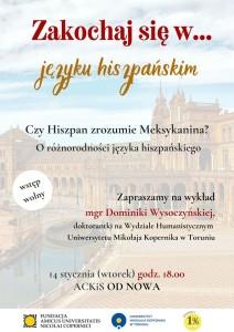 Plakat reklamujący wydarzenie [fot. wydarzenie na Facebooku]