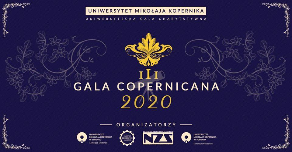 Przed nami III Gala Copernicana! [fot. wydarzenie na Facebooku: III Gala Copernicana - Uniwersytecka Gala Charytatywna]