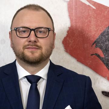 Paweł Gulewski to nowy zastępca Prezydenta Miasta Torunia. [fot. torun.pl]