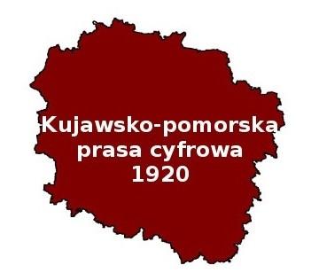 """""""Kujawsko-pomorska prasa cyfrowa 1920"""" to ciekawy projekt Książnicy Kopernikańskiej, dzięki któremu dotrzemy do dawnych tytułów wydawanych w regionie. [fot. screen ze strony informatorium.ksiaznica.torun.pl]"""