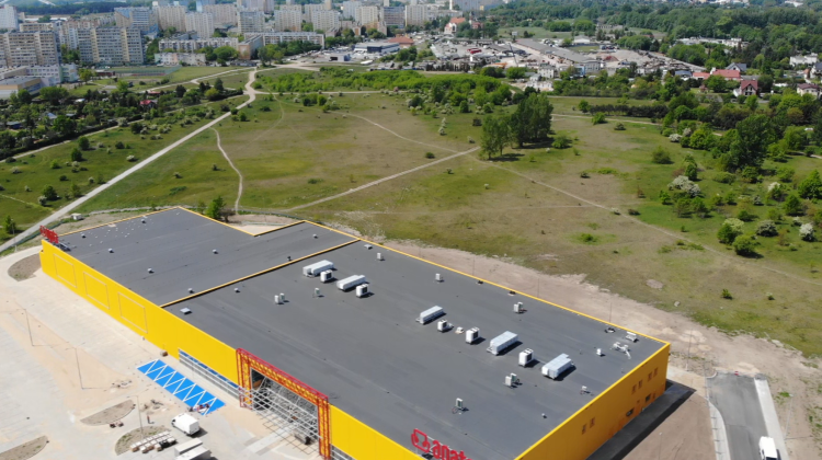 Tereny inwestycyjne przy Olsztyńskiej fot. Centrum Wsparcia Biznesu w Toruniu