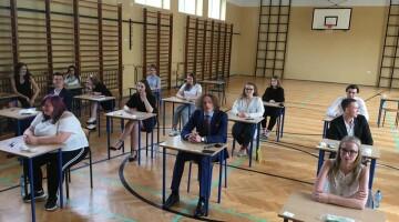 Matura w tym roku była wyjątkowa przez panującą pandemię fot. V Liceum Ogólnokształcące im. Jana Pawła II w Toruniu