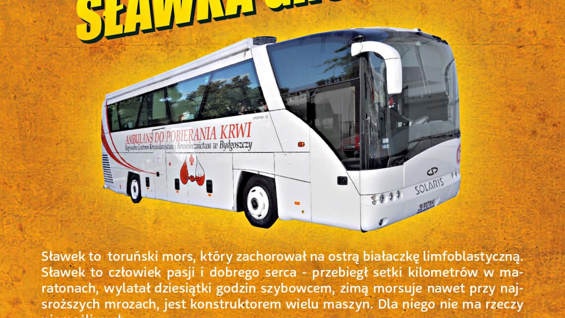 Oficjalny plakat akcji dla Sławka, źródło: organizator