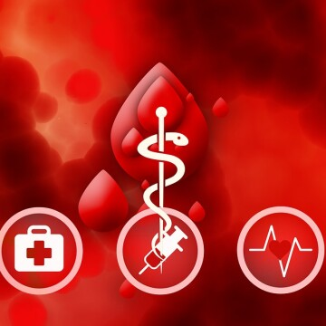 Pani Anna potrzebuje naszej krwi. Można ją oddać w oddziale RCKIK przy Gagarina [grafika: pixabay.com]