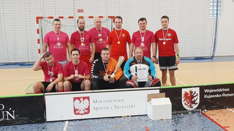 Avanti sięgnęło po drugi tytuł w Pucharze TLU (fot. Toruńska Liga Unihokeja)