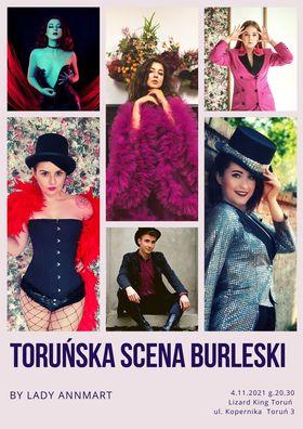 Toruńska Scena Burleski ponownie w Lizard Kingu