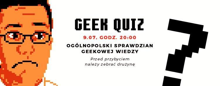 Geek Quiz #0 w toruńskiej Cybermachinie