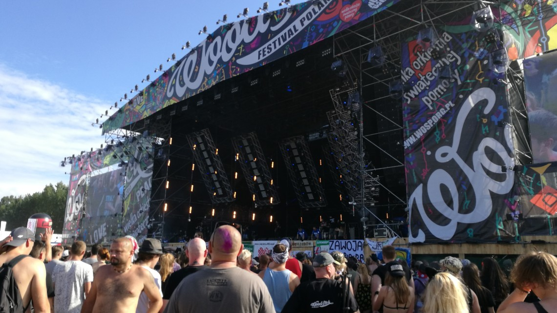 Duża Scena Przystanku Woodstock | fot. Konrad Marzec