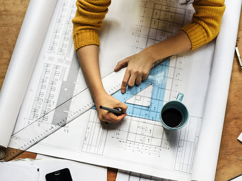 Projekt wnętrza - zatrudnienie architekta