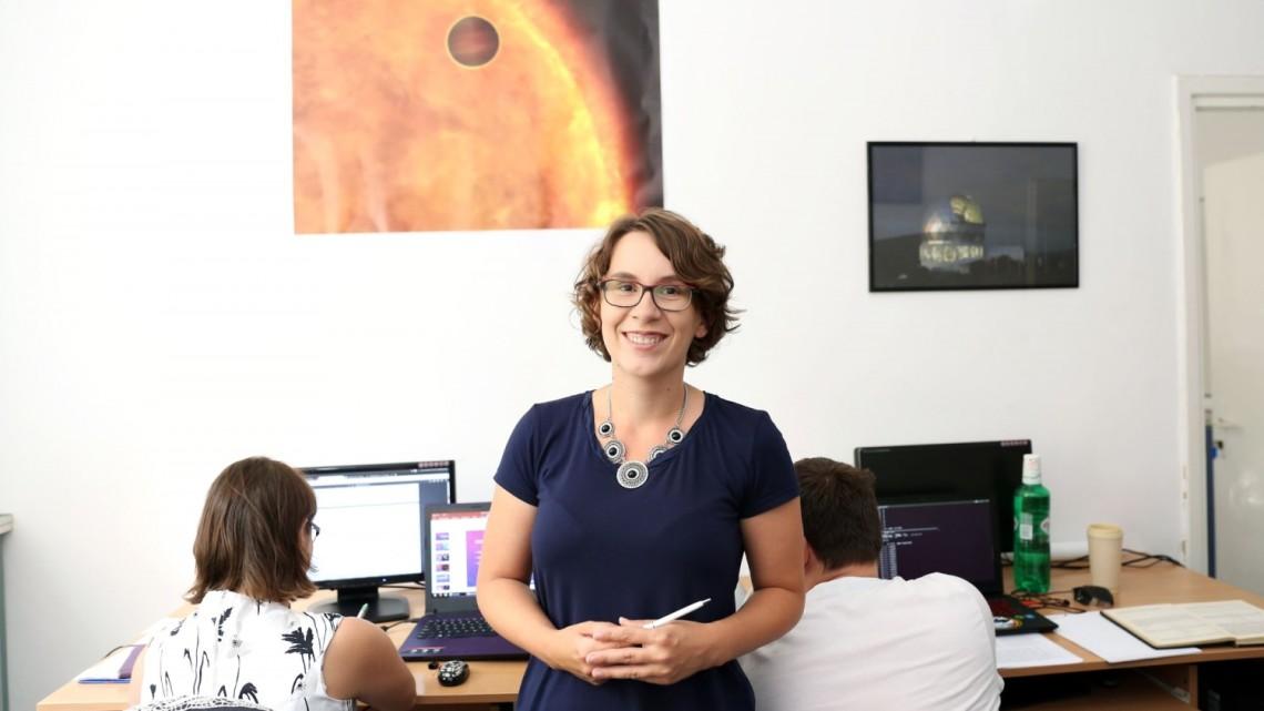 Dr Agata Karska z Wydziału Fizyki, Astronomii i Informatyki Stosowanej UMK [fot. Andrzej Romański/umk.pl]