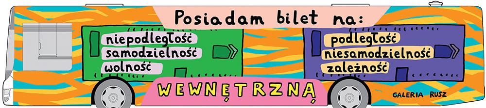 Bilet, Galeria Rusz, Toruń